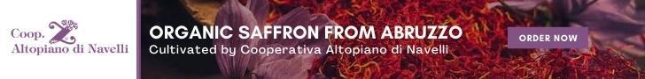 Organic Saffron from Abruzzo
