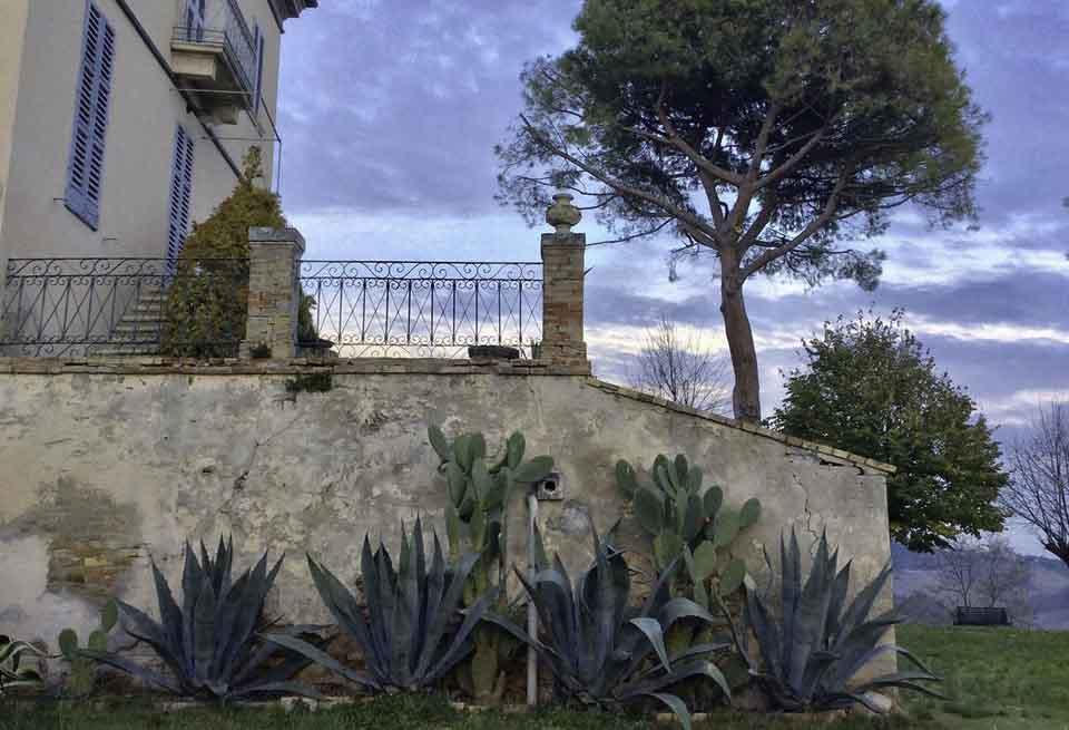 Villa Cardi luxe appartementen bij de Adriatische kust in Marche