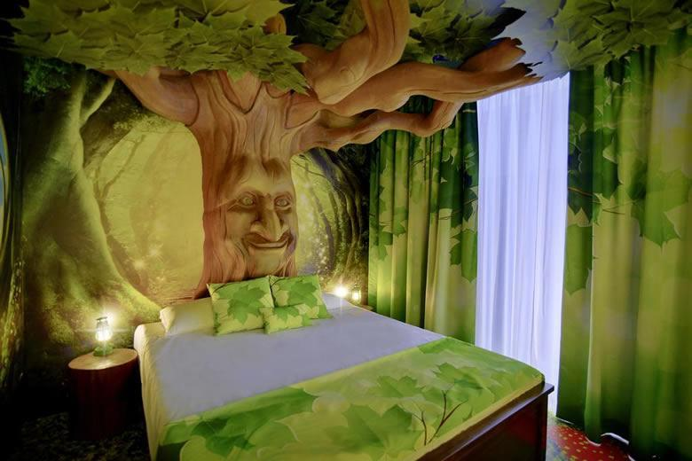 Sprookjesboskamer Gardaland Magic Hotel