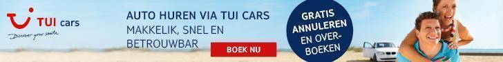 Vergelijkautohuur prijzen! TUI is altijd voordelig