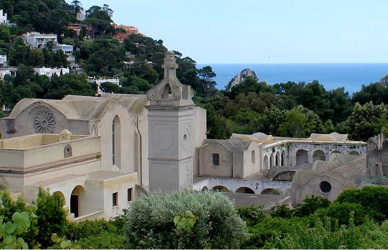 Kerstactie voor de renovatie van de Certosa van Capri