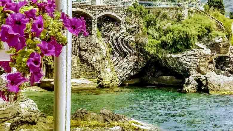 Nervi bij Genua is een de mooiste dorpen van Italië