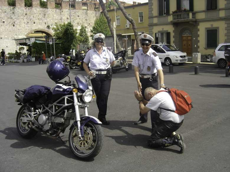 biker and police 2