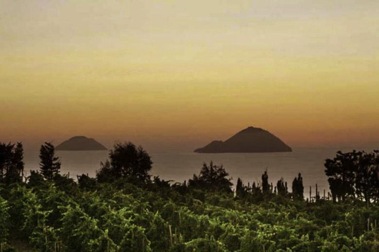 Siciliaanse wijn proeven op de helling van de Etna en op het eilandje Salina