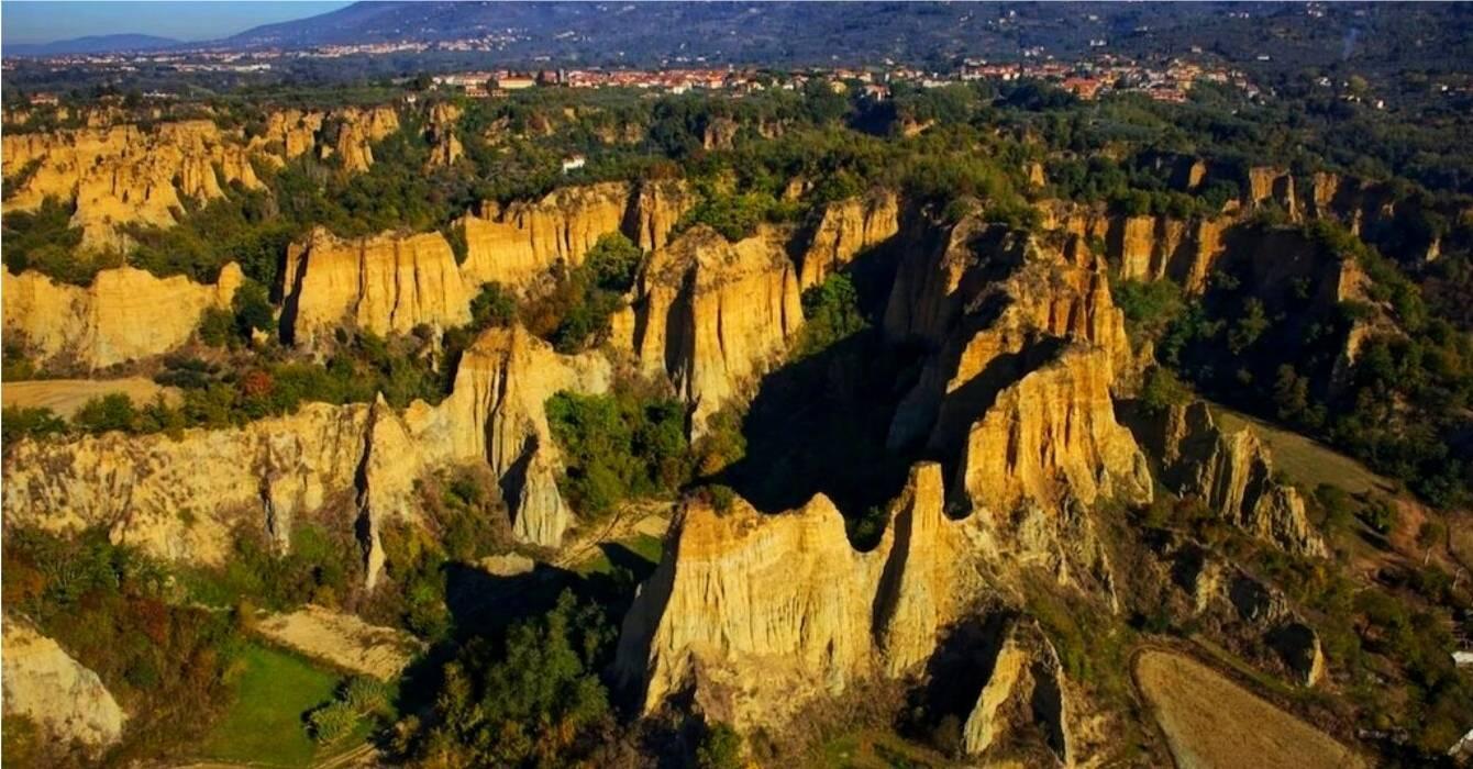 Toscane zonder toeristen in het Pratomagno massief