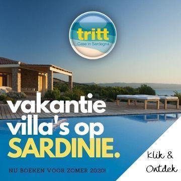 Boek nu de mooiste villa's op Sardinie