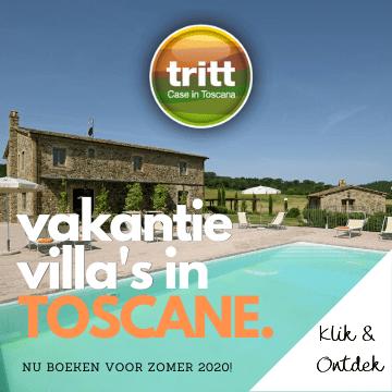 Boek nu de mooiste villas in Toscane