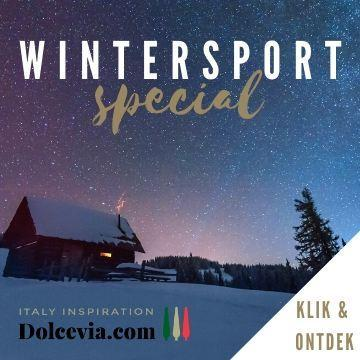 Ontdek nu de wintersport special over Italie