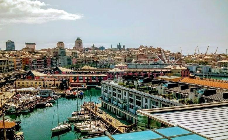 Een nieuwe uitgave van onze stedengids voor Genua 2019