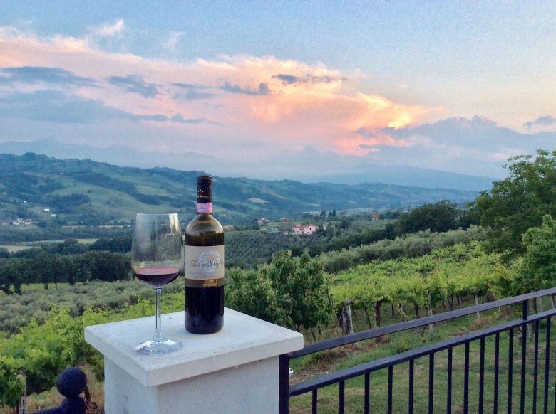 Casina Margherita, vakantiewoning op het wijngoed Tenuta Cerulli Spinozzi