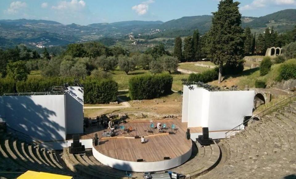 Juli & Augustus - Estate Fiesolana in het Romeinse amfitheater