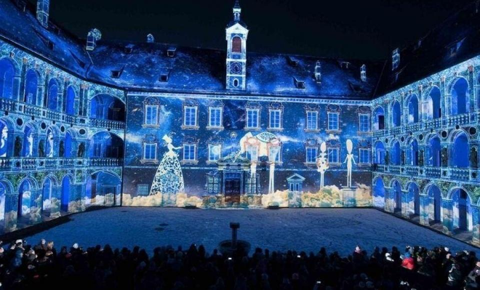 Solomon's Dream - Winter Lichtshow in Brixen/Bressanone