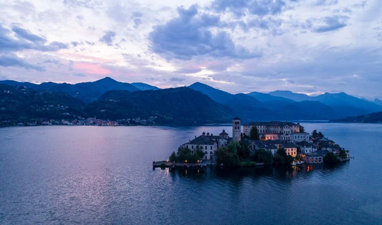 Lago d'Orta, het meest schitterende meer van Italië