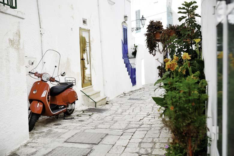 Basisroute Puglia in 12 etappes slow van noord naar zuid