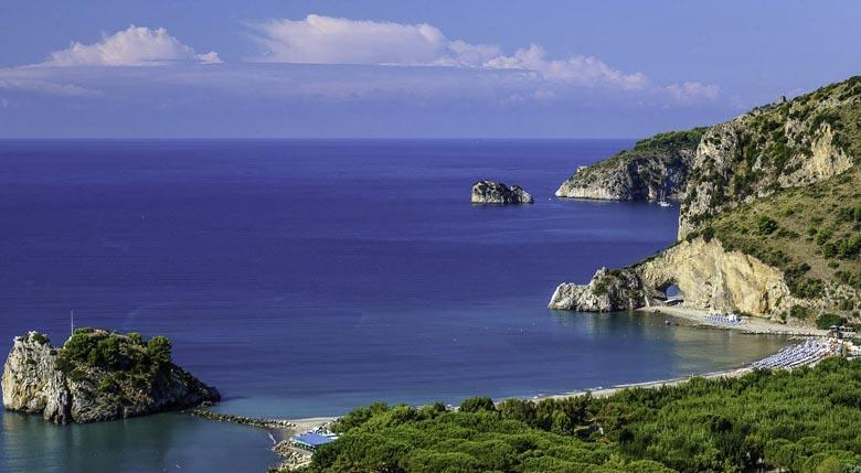 Residentie Villa Mirella in het Cilento N.P. vakantiewoningen aan zee