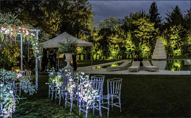 Villa Anitori wedding