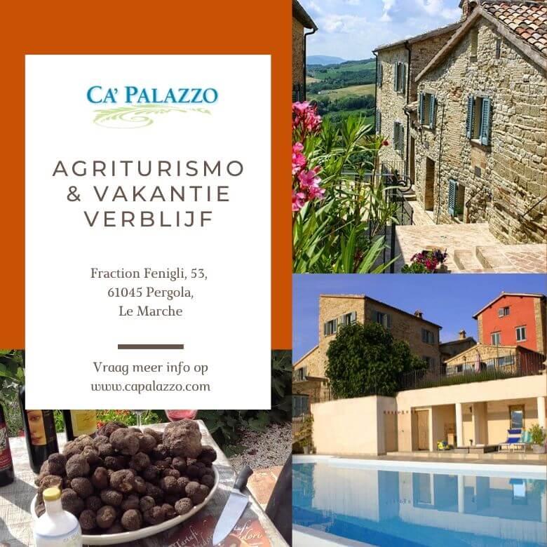 Ca Palazzo Vakantie Verblijf in Le Marche