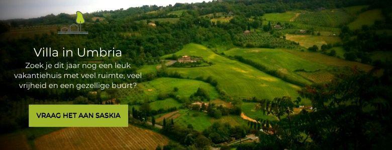 Boek nu de mooiste villas in Umbrië