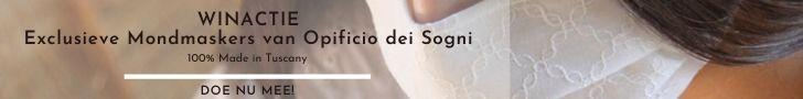 Doe mee en win een van de exclusieve mondmaskers uit Toscane