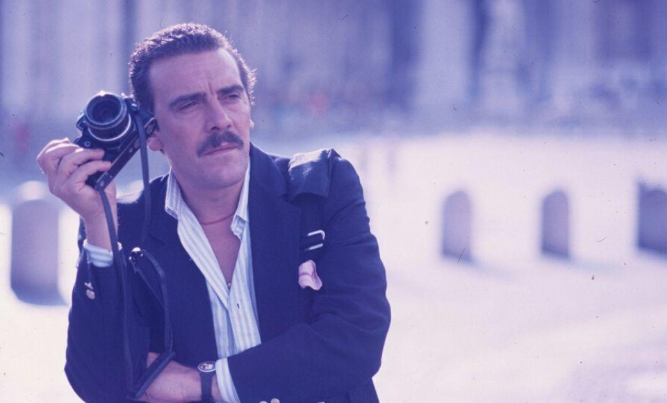 """Rino Barillari, """"de koning van de paparazzi in Rome"""""""