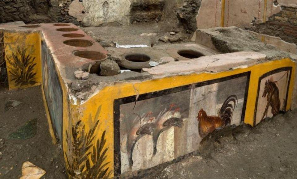 Snackbar in Pompeii