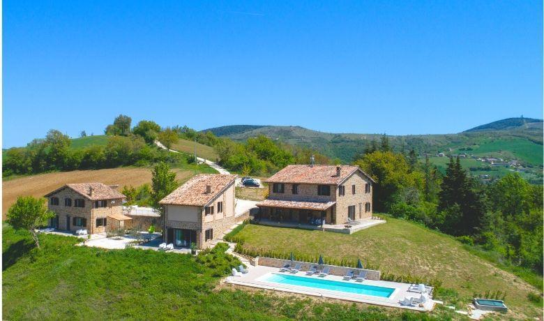 Borgo Crispiero, een bellissimo B&B in de heuvels van Le Marche