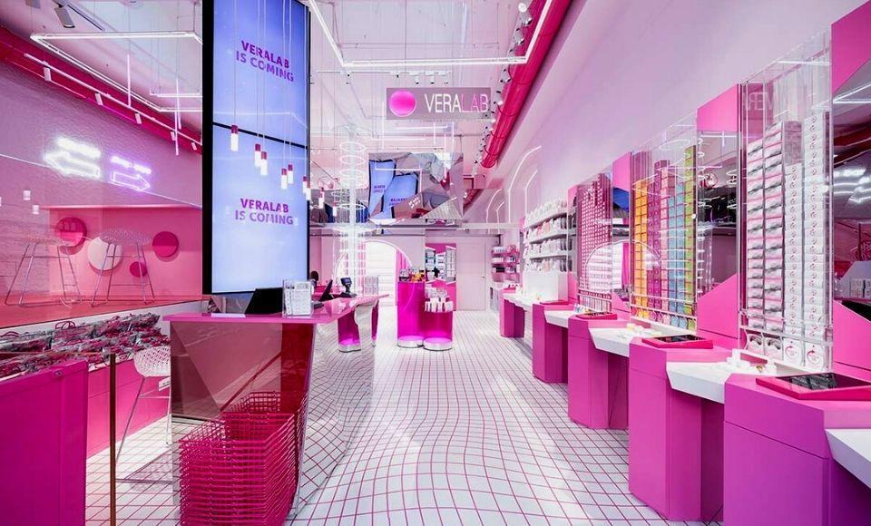 Flagship store Veralab a Milano