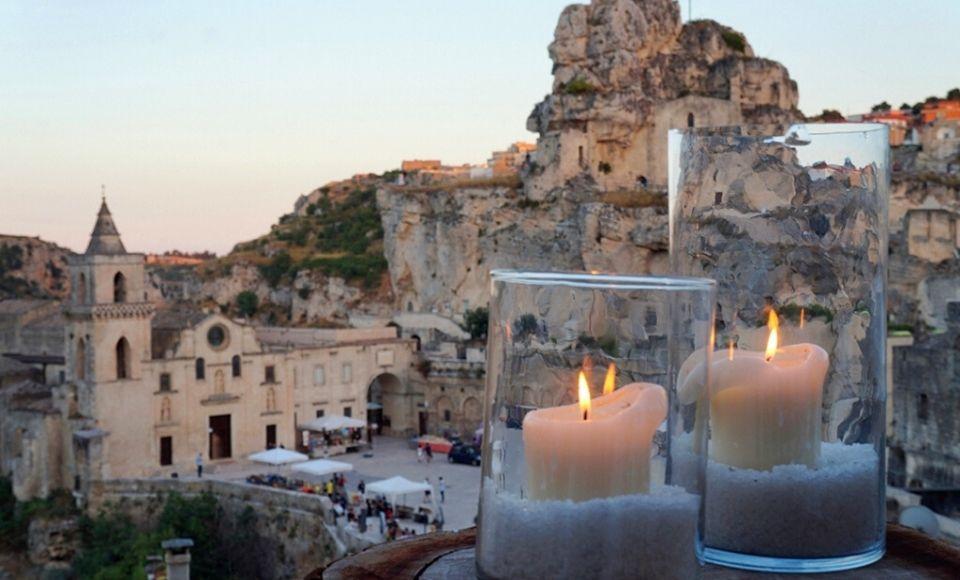 Presentatie van Hotel SantAngel in Matera