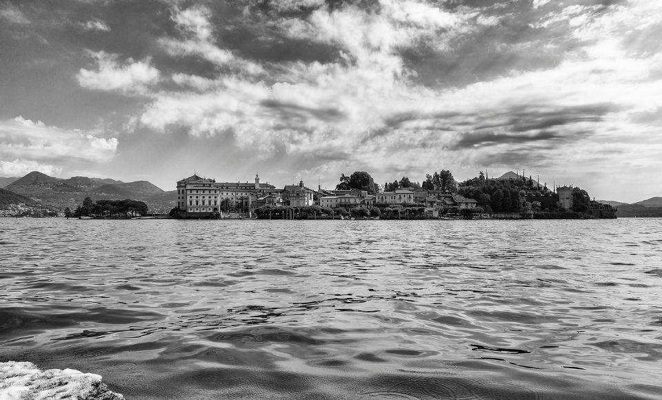De Borromeïsche Eilanden Van Het Lago Maggiore