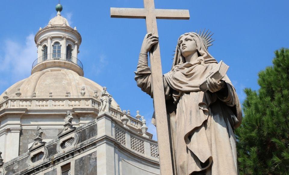 Viva Sant'Agata van Sicilie