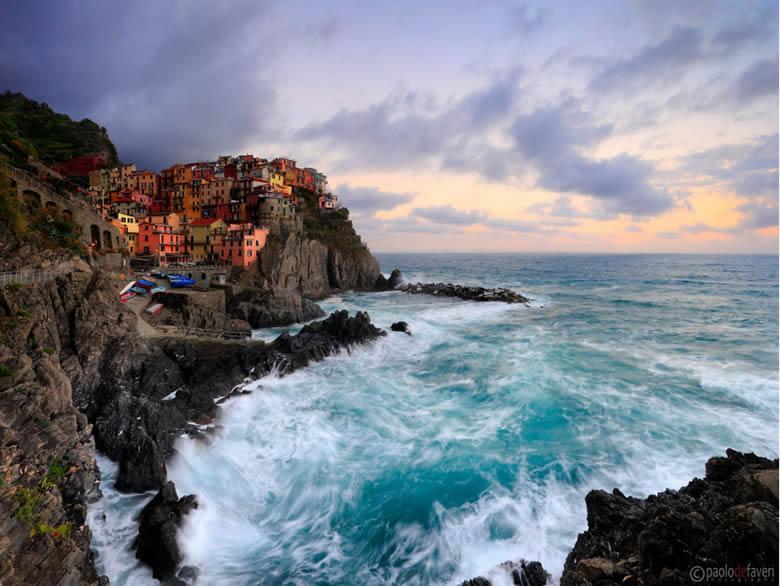 Cinque Terre Ligurie door Paolo de Faveri