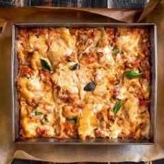 Vincisgrassi -  De koningin van alle lasagne met 7 lagen