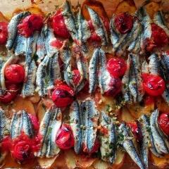 Acciughe alla Vernazzana - Ansjovis uit Vernazza