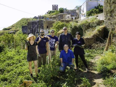 Grottole, vrijwilligers verblijven een zomer in Basilicata