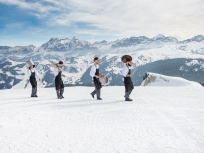 Gourmet Skisafari in Alta Badia met top Italiaanse chefs