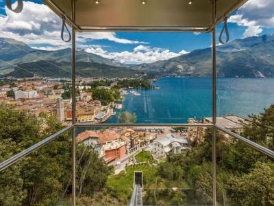 Nieuwe Panoramische Lift Gardameer
