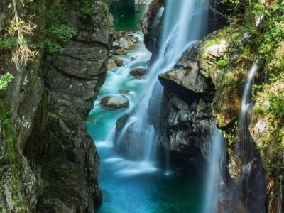 Val Grande, verdwijnen in de rimboe van de Rio Pogallo