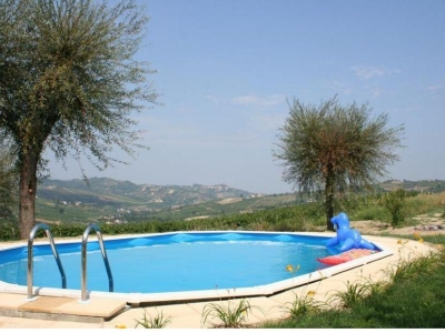 Villa I Due Padroni, 60 km zuid van Milaan in Lombardije