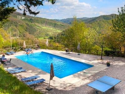 Villa La Farfalla, een country hotel in het groene hart van Umbrië