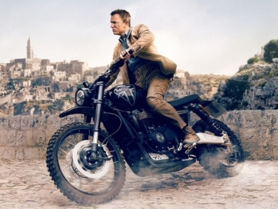 James Bond in Matera: ´No Time to Die´