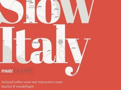 SlowItaly - Route Ligurië App-boek laatste vernieuwde uitgave 1.3