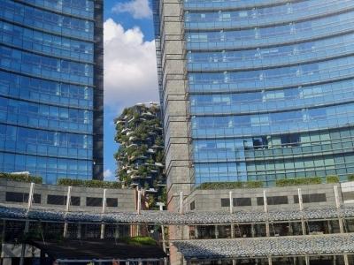 Porta Nuova van Corso Como naar het Bosco Verticale