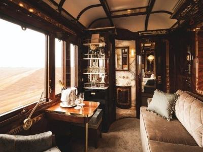Dolce Vita Trein van de Orient Express kriskras door Italie