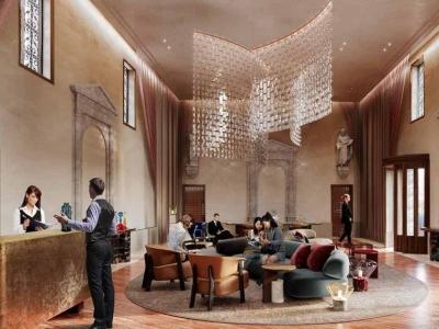 Iemand bood 1.0065918246107 EMT voor exclusief gebruik nieuw hotel in Venetië