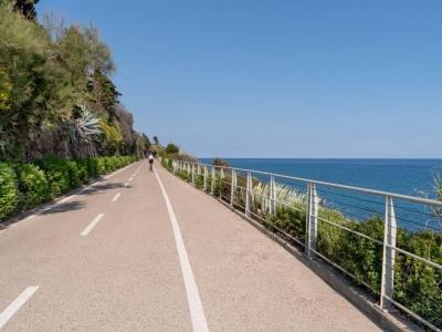 Het Tyrreense fietspad van de Franse grens tot Rome