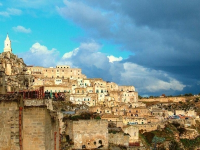 Matera, culturele hoofdstad 2019, stad van sassi