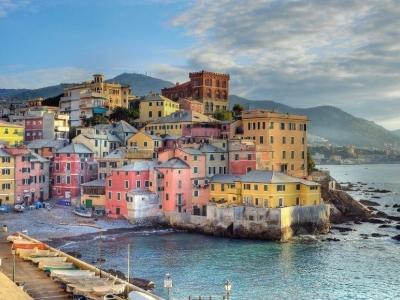 Boccadasse in de sfeer van Cinque Terre