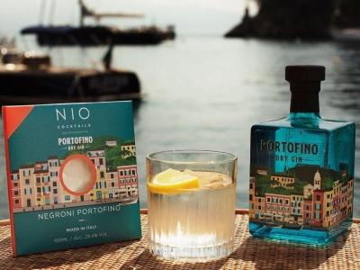 Italiaanse cocktails met Portofino Gin thuisbezorgd