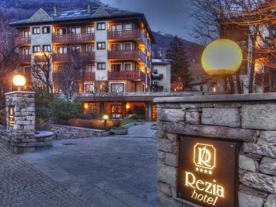 Rezia Hotel in het alpengebied van het Stelvio N.P
