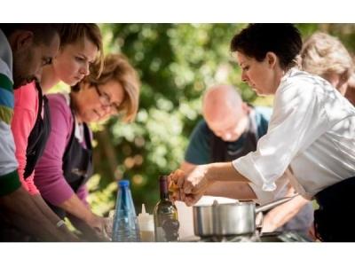 De toerist met koksmuts, kooklessen in Italië